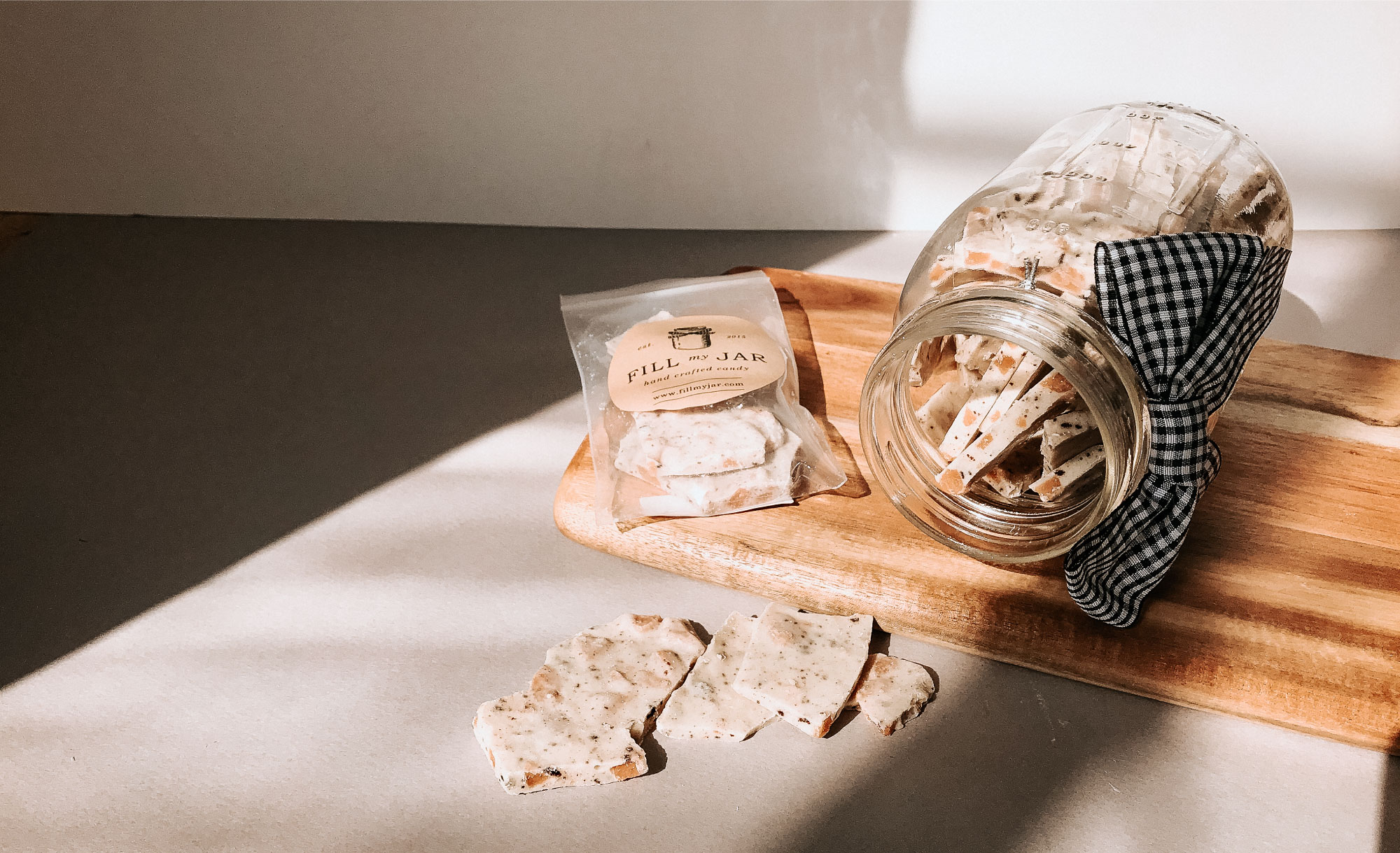 Fill My Jar Brand Design By Viola Hill Studio