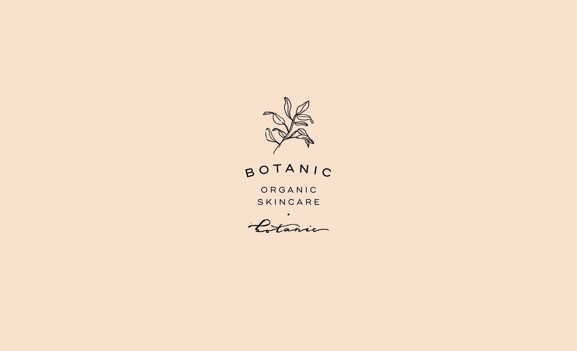 Botanic Organic Skincare Brand and Packaging Design by Viola Hill Studio