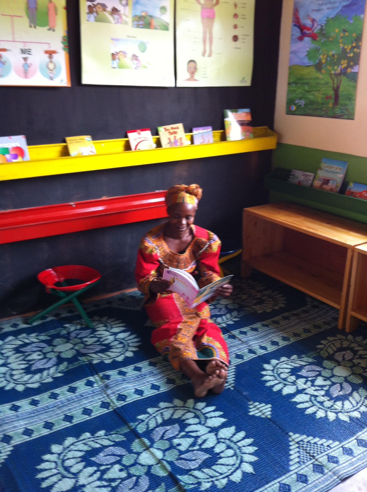 The new reading corner