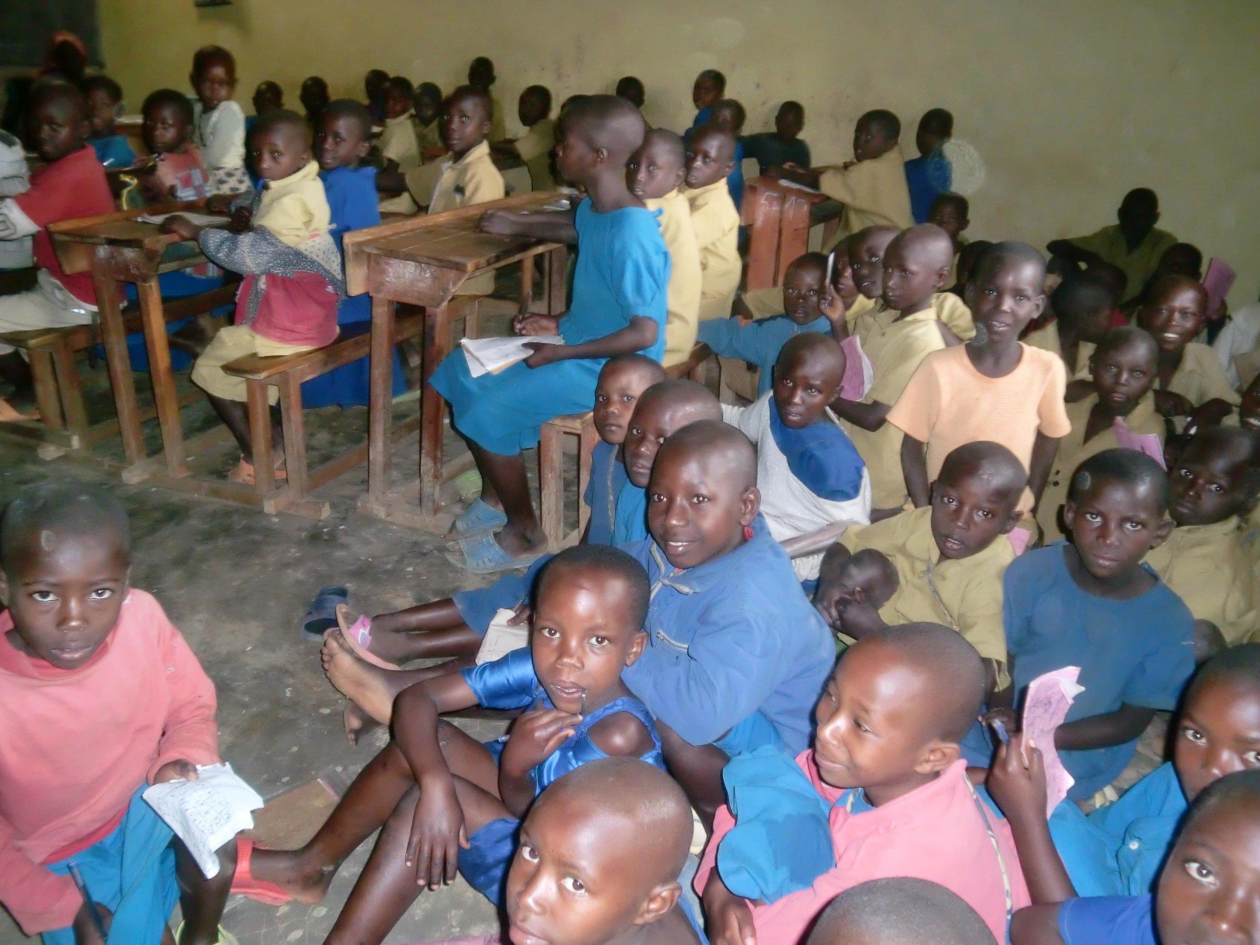 A typical classroom scene pre-TFS