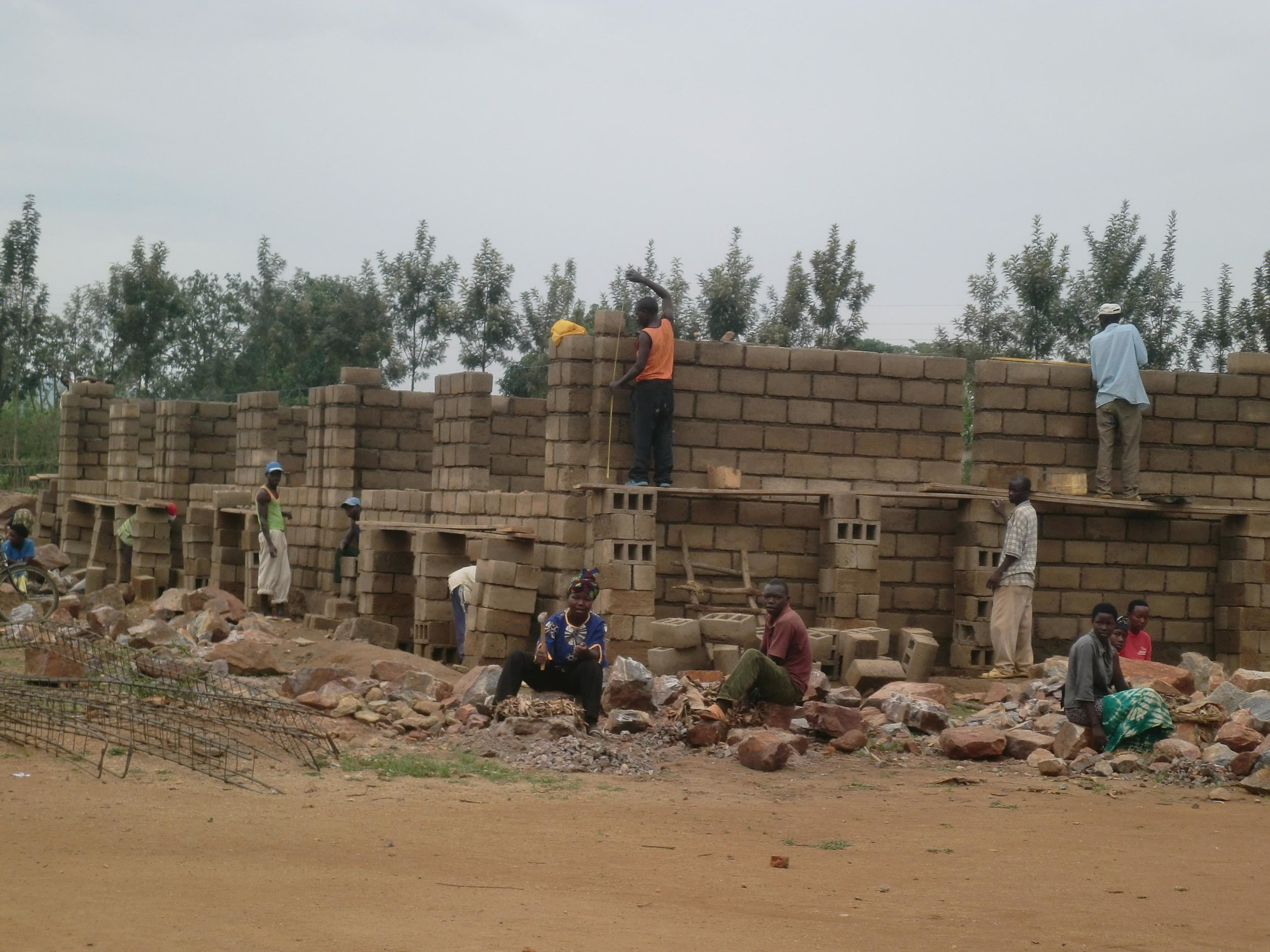 Construction of new classrooms