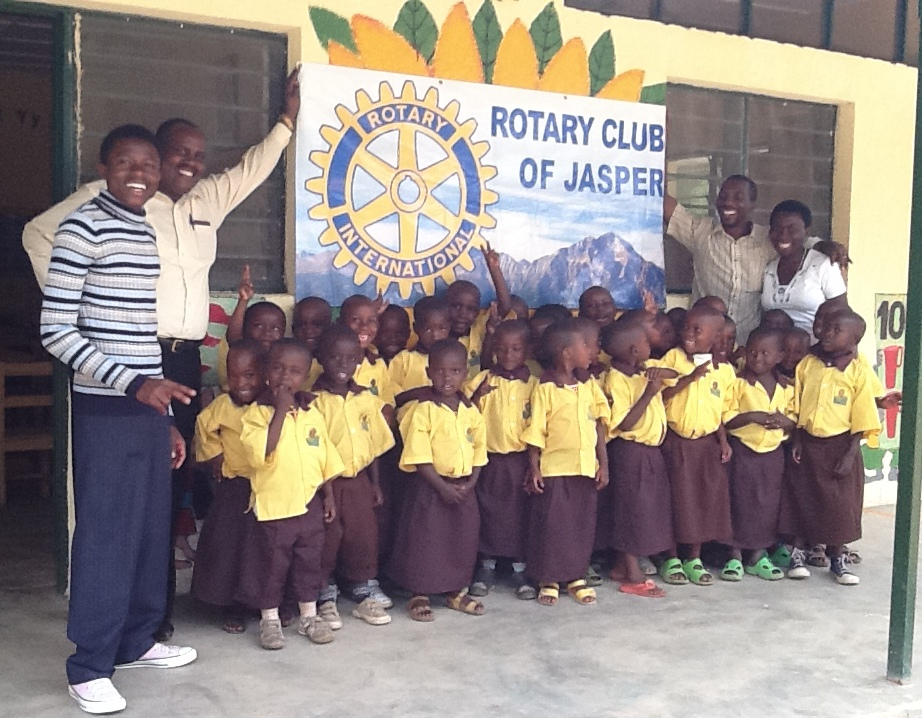 Nursery Students in New Uniforms at Nkora, 2013.jpg