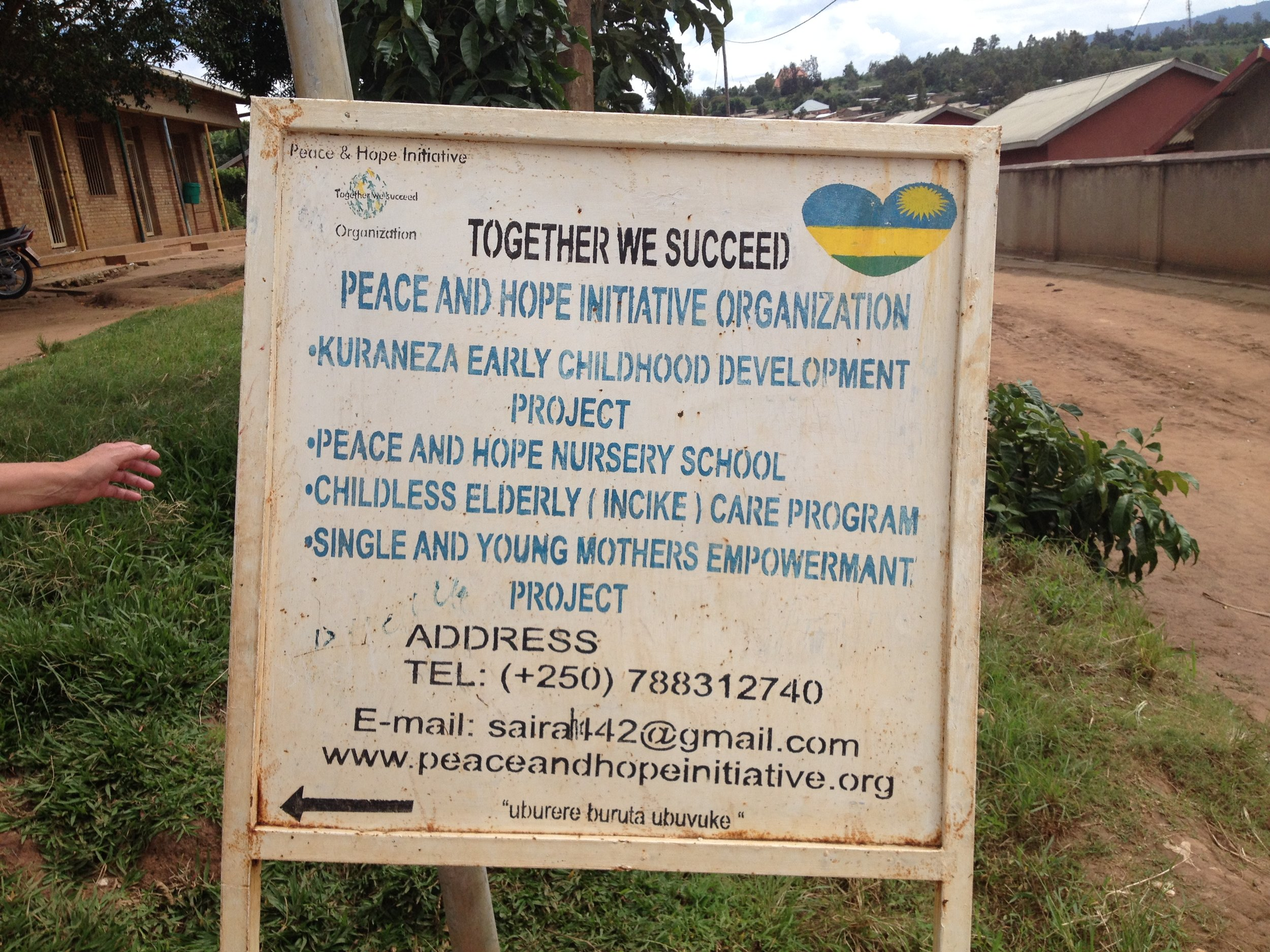 Welcome to the Peace and Hope School!