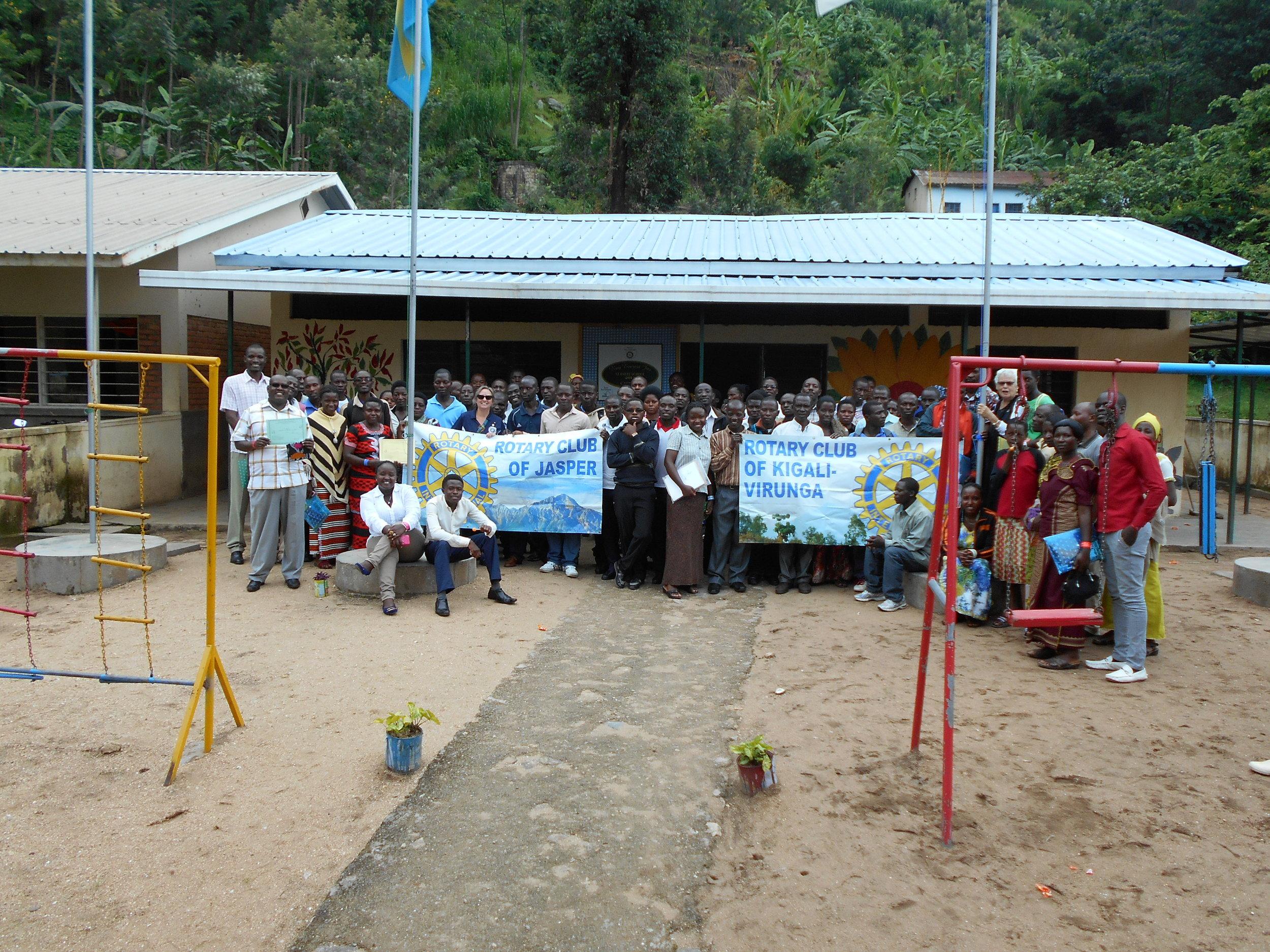 Nkora, Teacher Training, Graduation Class, Oct-Dec, 2014.JPG