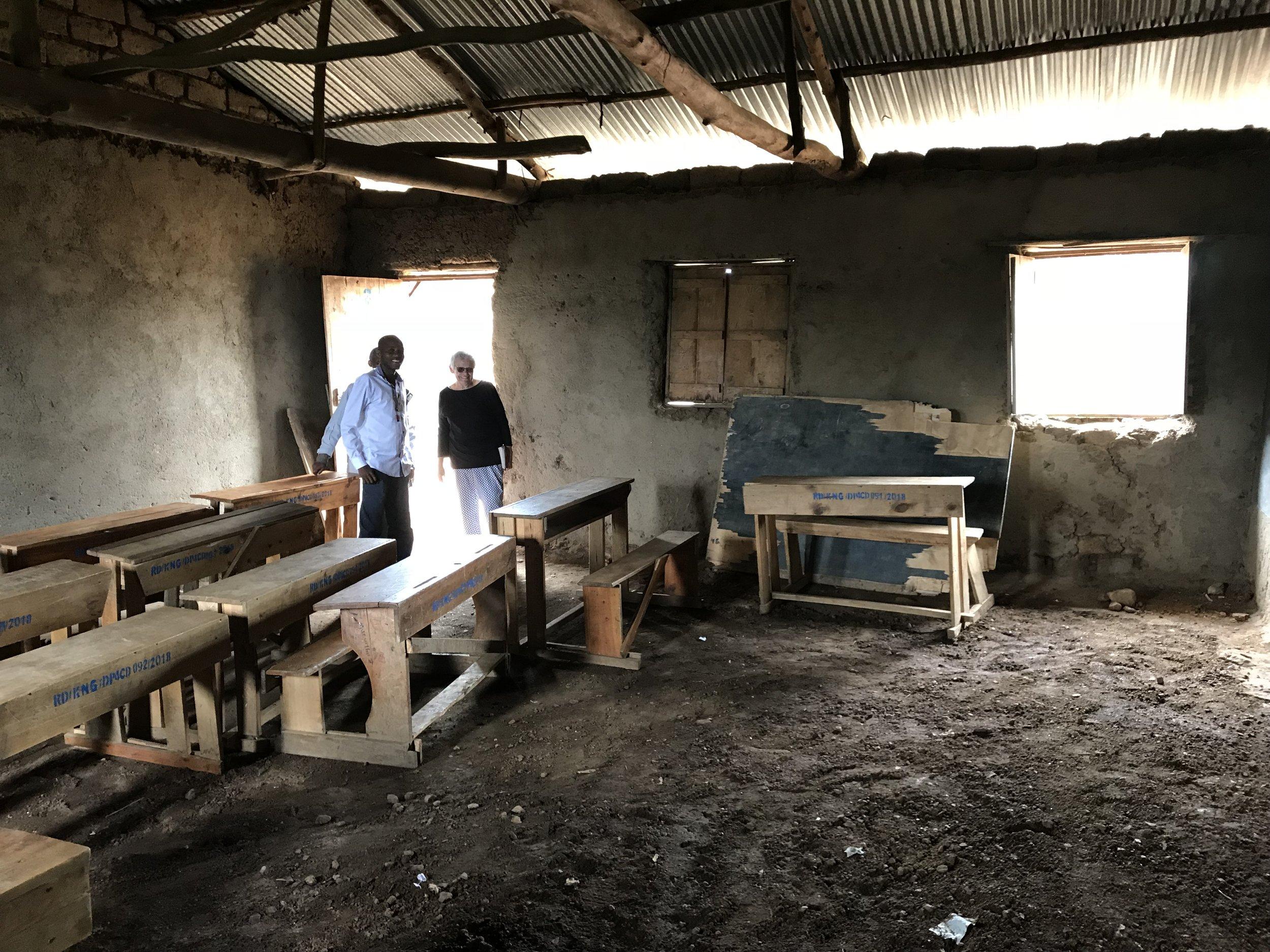 Pre-existing nursery room