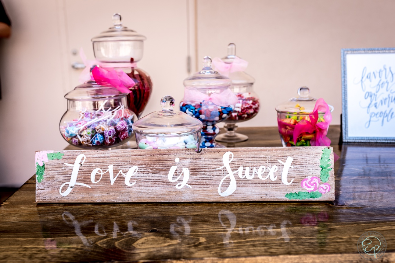 Apothecary Jars by San Diego Decor and More  Candy Bar Design by Events By Lift