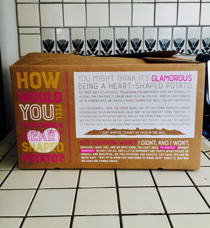 The medium Organic box from Imperfect Produce around $20!