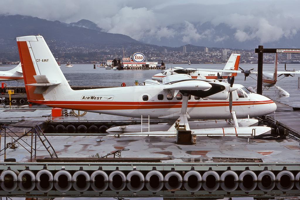 Kenneth I. Swartz/Aeromedia Communications Photo © Vancouver-Harbour, BC 19-Oct-1975