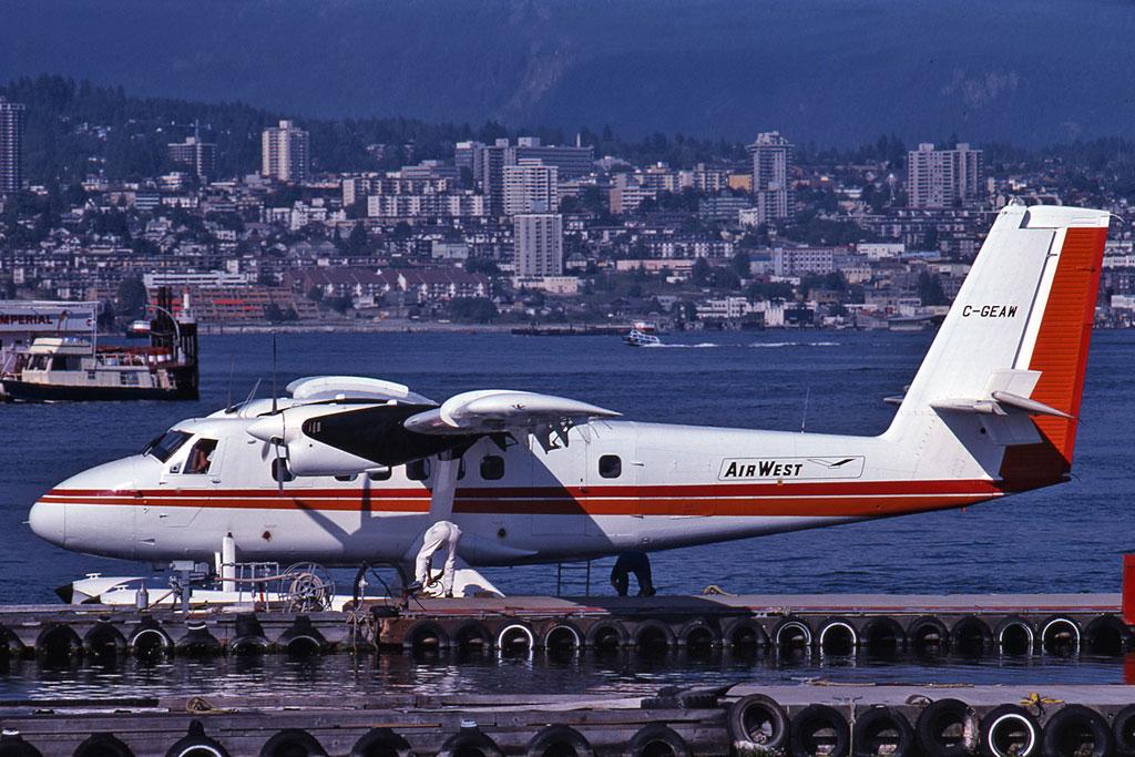 John Kimberley Photo © Vancouver-Harbour, BC Aug-1979