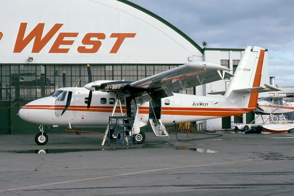 Kenneth I. Swartz/Aeromedia Communications Photo © Vancouver, BC 20-Mar-1975