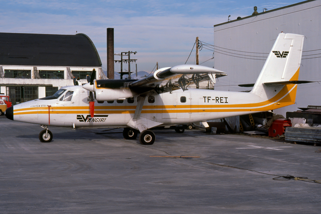 Kenneth I. Swartz/Aeromedia Communications Photo © Vancouver, BC Jan-1979