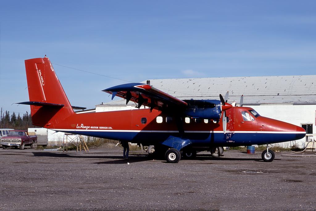 Kenneth I. Swartz/Aeromedia Communications Photo © La Ronge, SK Oct-1978