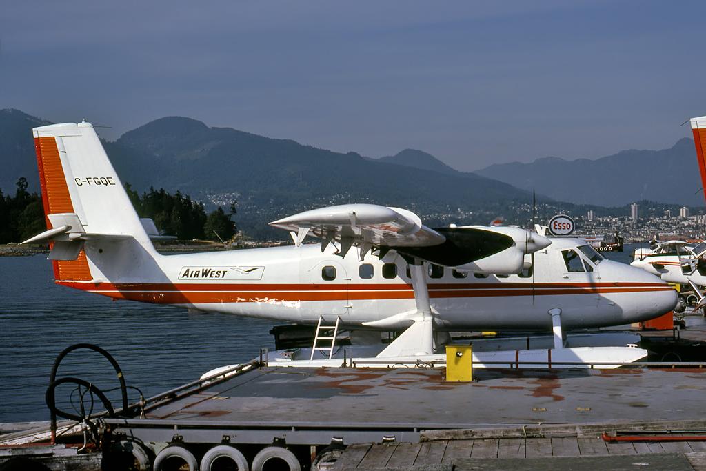 Kenneth I. Swartz/Aeromedia Communications Photo © Vancouver-Harbour, BC 13-Aug-1979