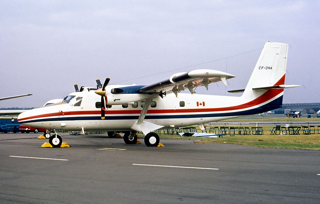 DHC Photo © Farnborough 1972