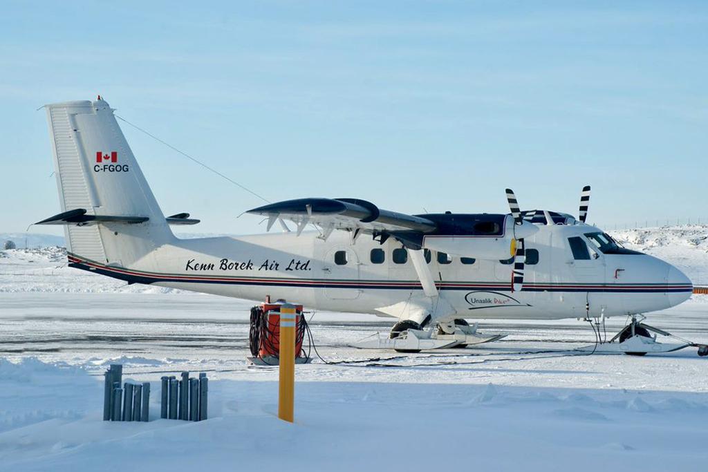 Frank Reardon/YFB Spotter Photo  © Iqaluit, NU 07-Mar-2017