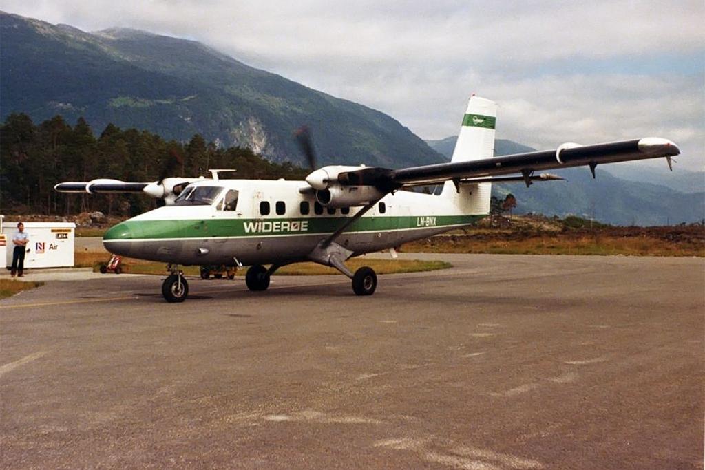 Bodø Aviation History Association Photo © Sogndal
