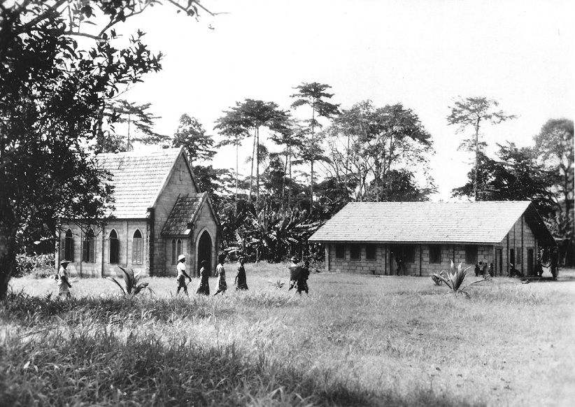 A missionary station in Cameroun.