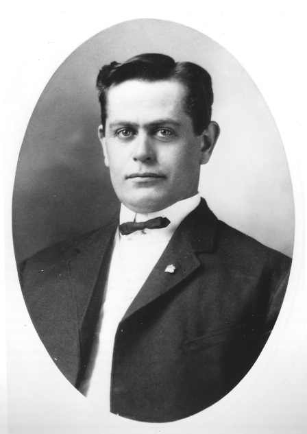 My grandfather Fred Hope (1875-1946), circa 1901.