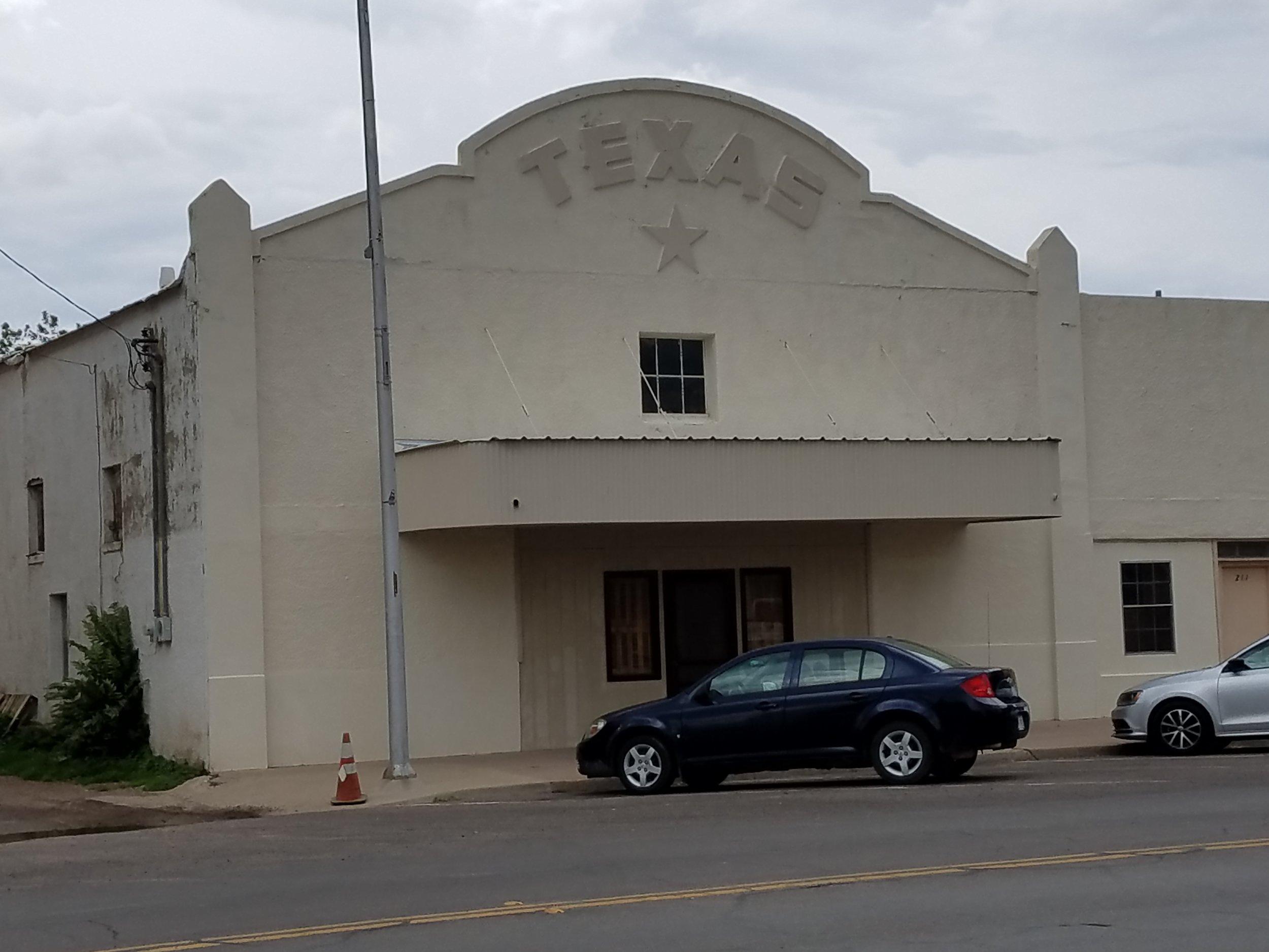 Marfa, Texas. Abandoned movie house?