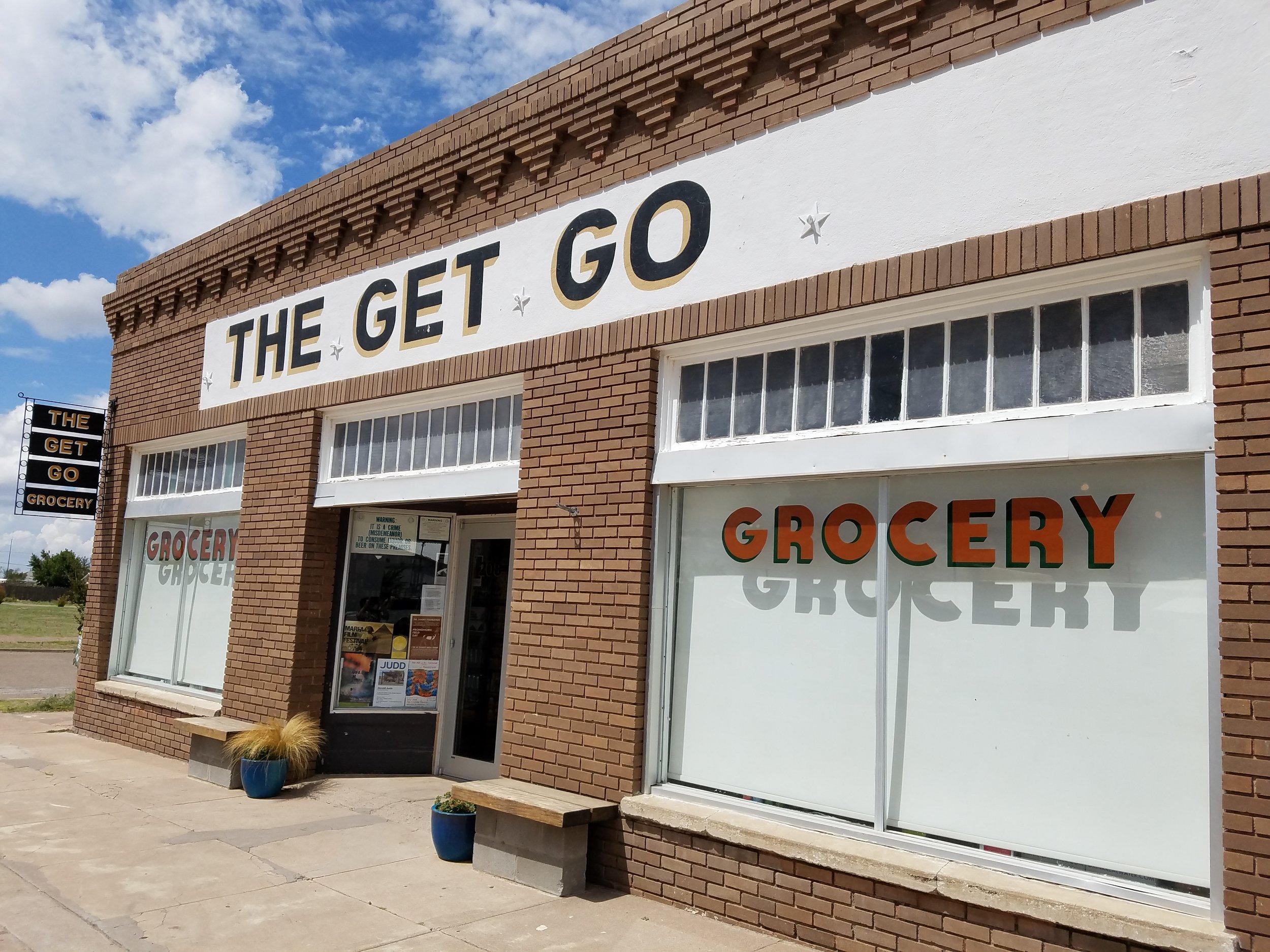 Marfa, Texas grocery.