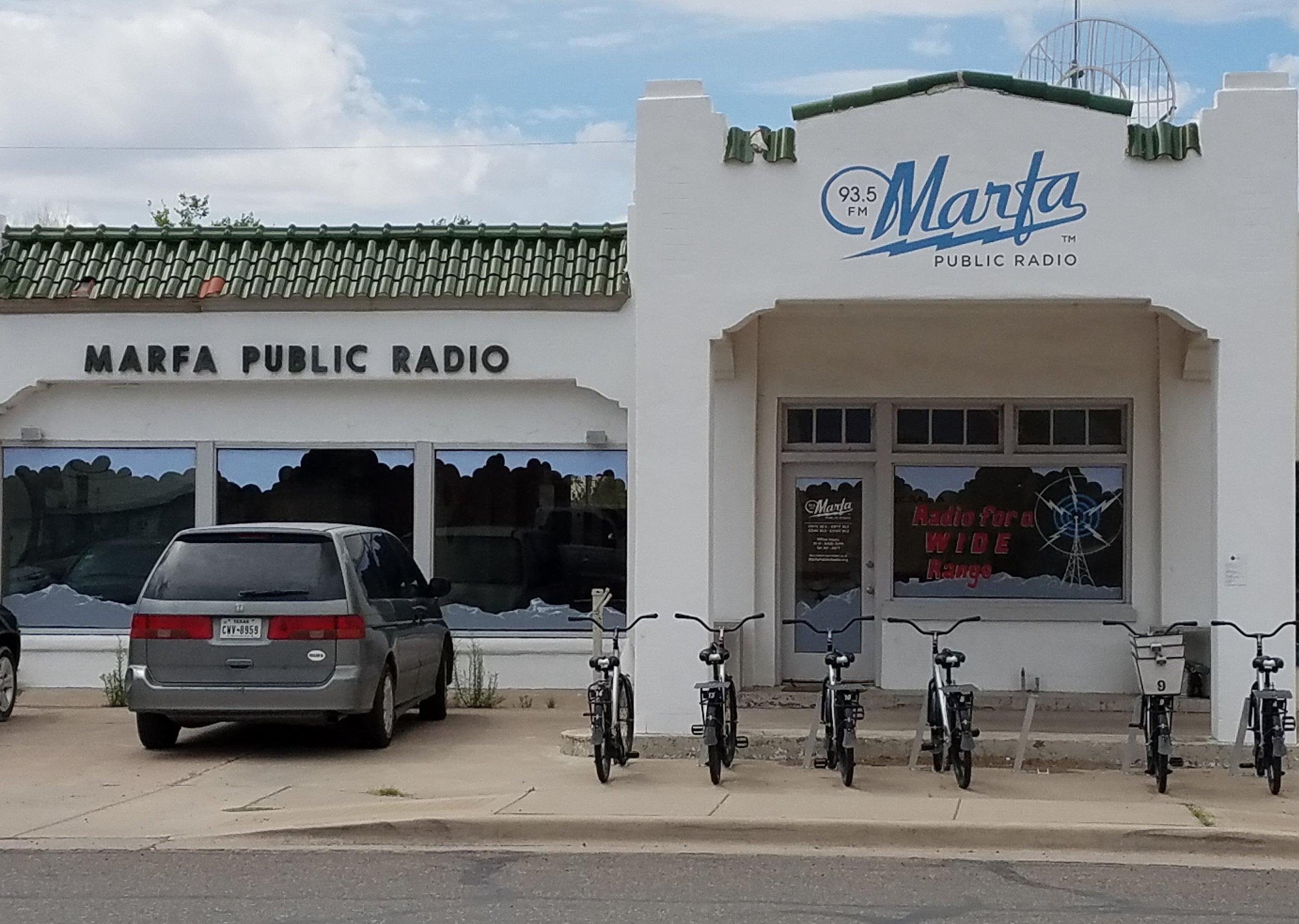 Marfa, Texas radio station.
