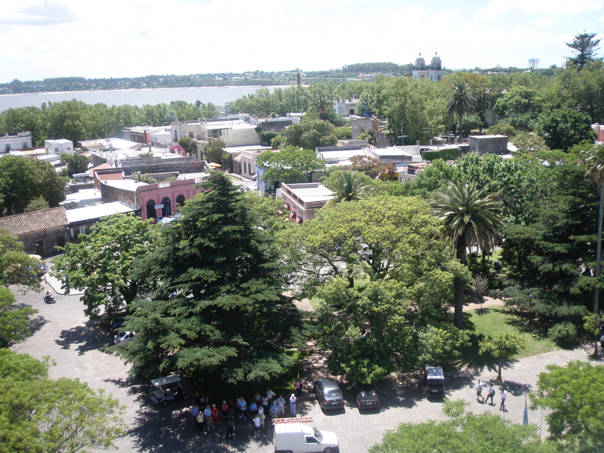 Colonia, Uruguay. Across the Rio de la Plata from Buenos Aires.