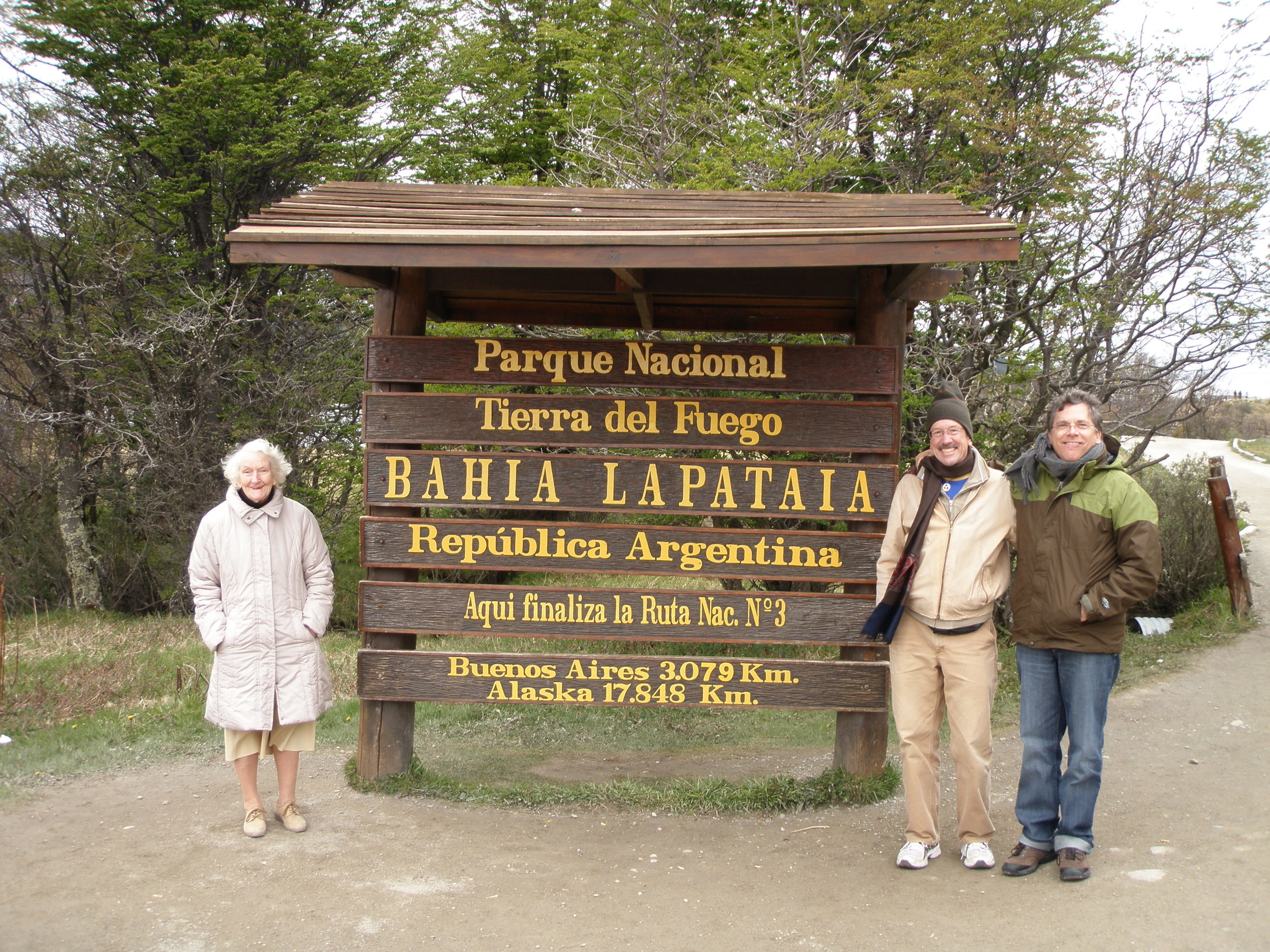 Tierra del Fuego National Park. Southernmost tip of Argentina.