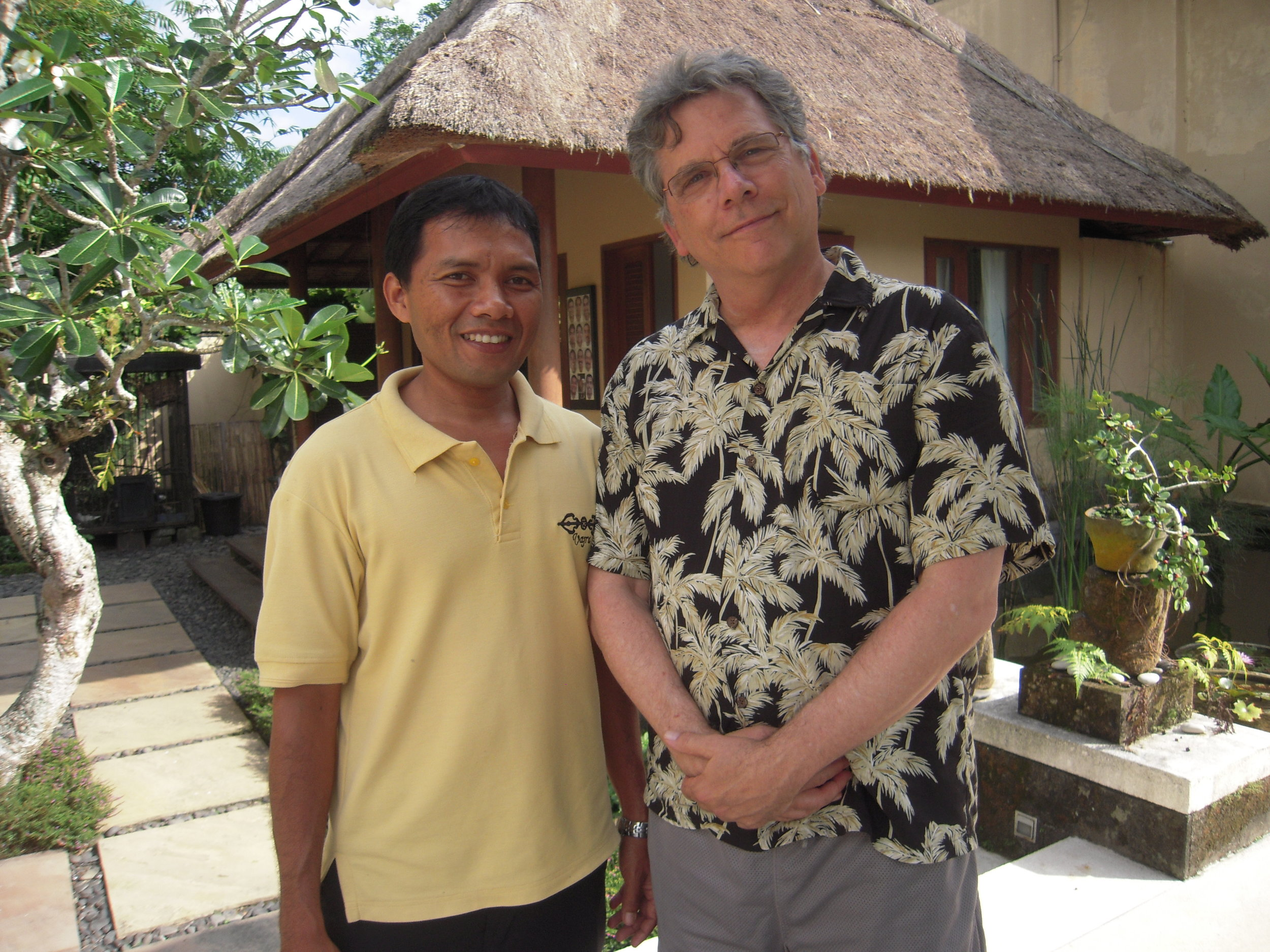 BALI 2014 -- With Gusti, driver who took us on tour of the island.JPG