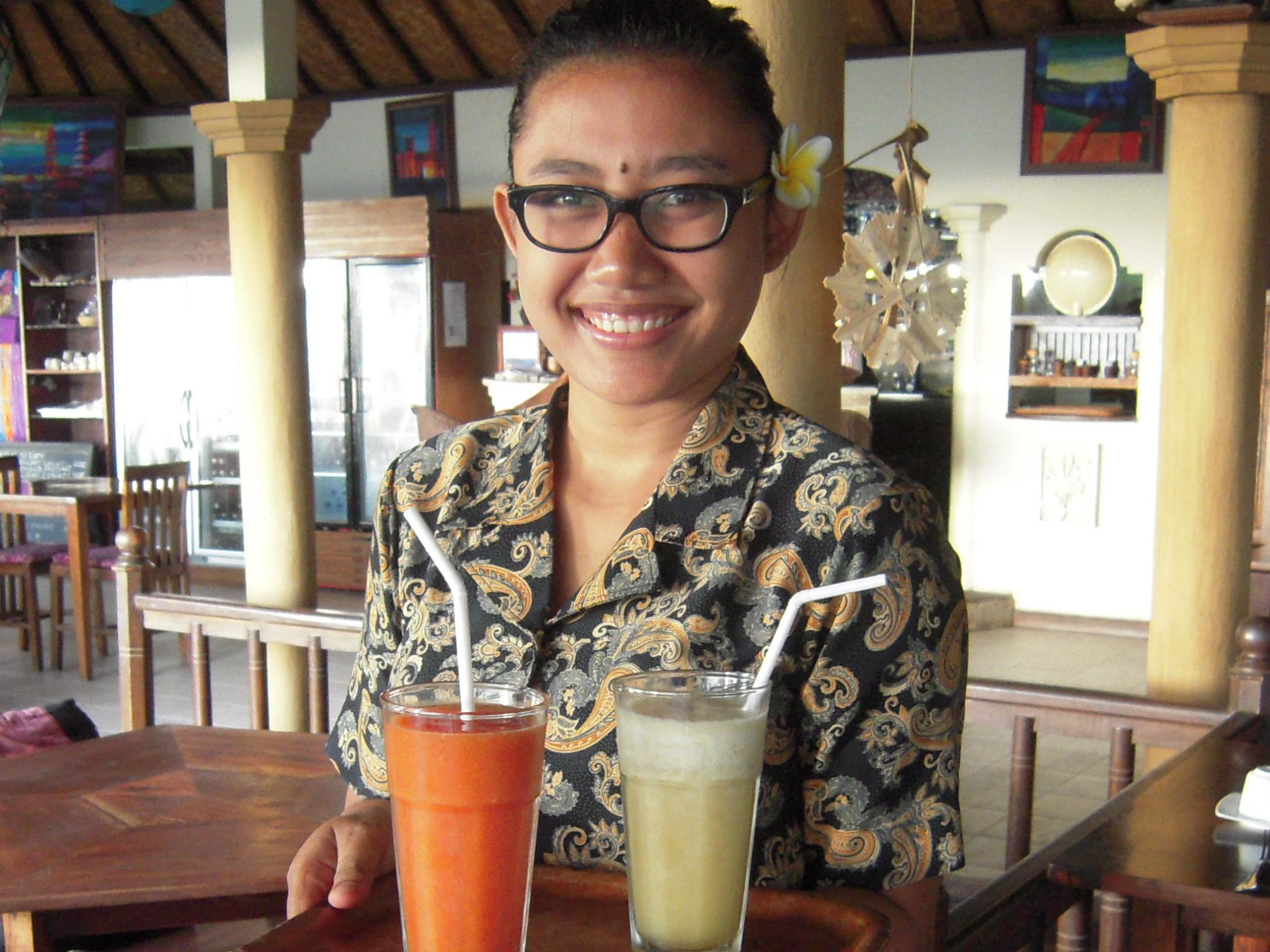 BALI 2014. At Blue Moon Villas, Amed, on eastern shore of Bali.JPG