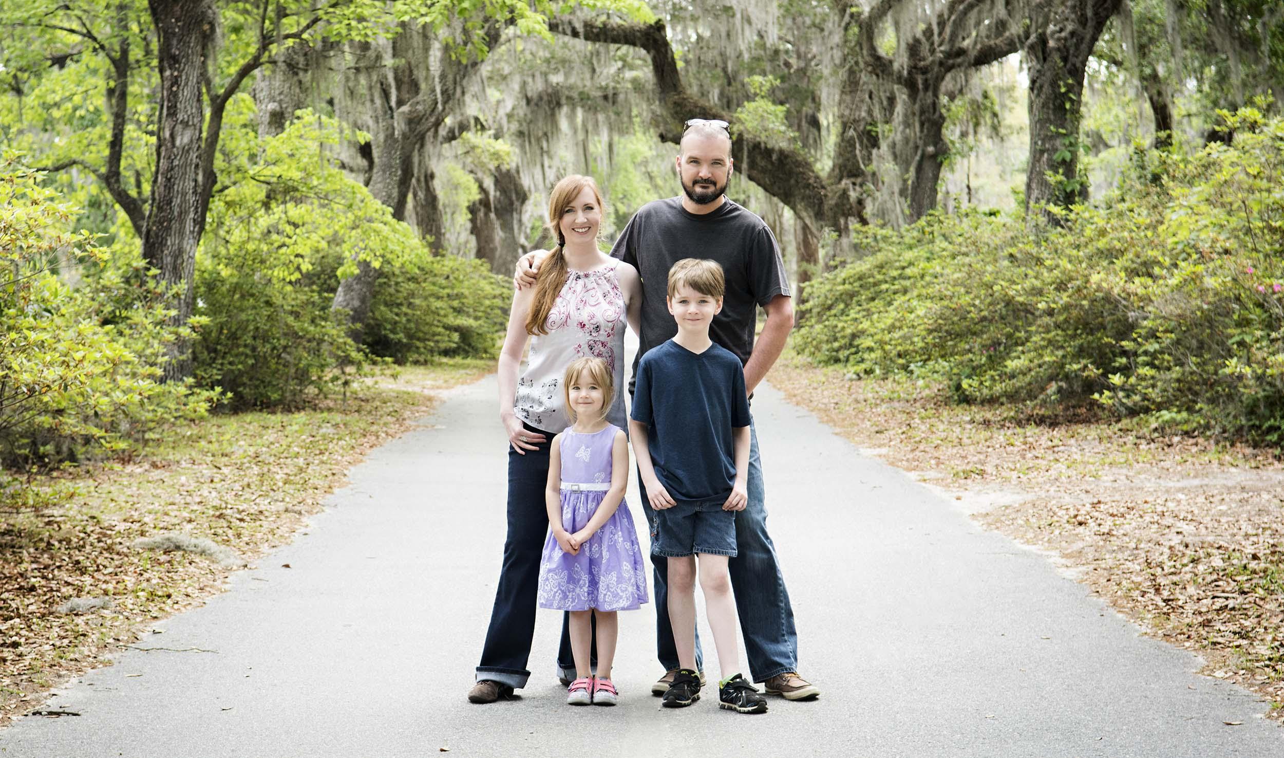 Family trip to Savannah, GA 2017