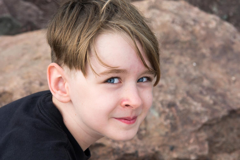 Quinn, age 8