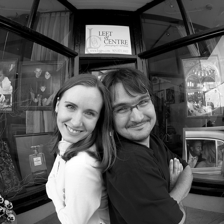 Sometime in 2004, in front of our first location on Mill Street, Downtown Georgetown