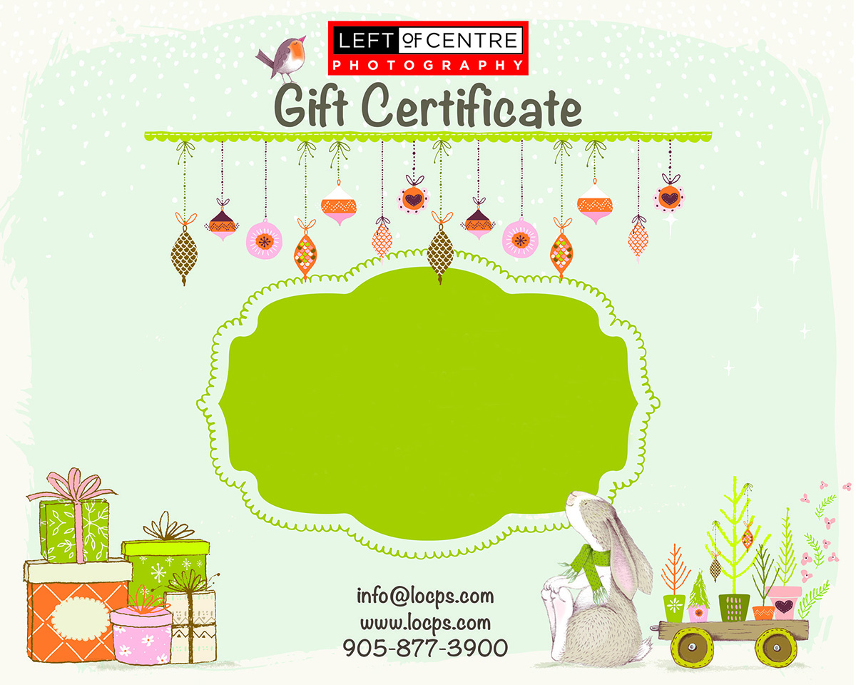 Gift Certificates Available! - Click the Image of the Gift Certificate for more information.