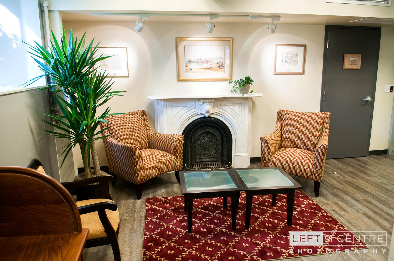 halton hills public library interior history room