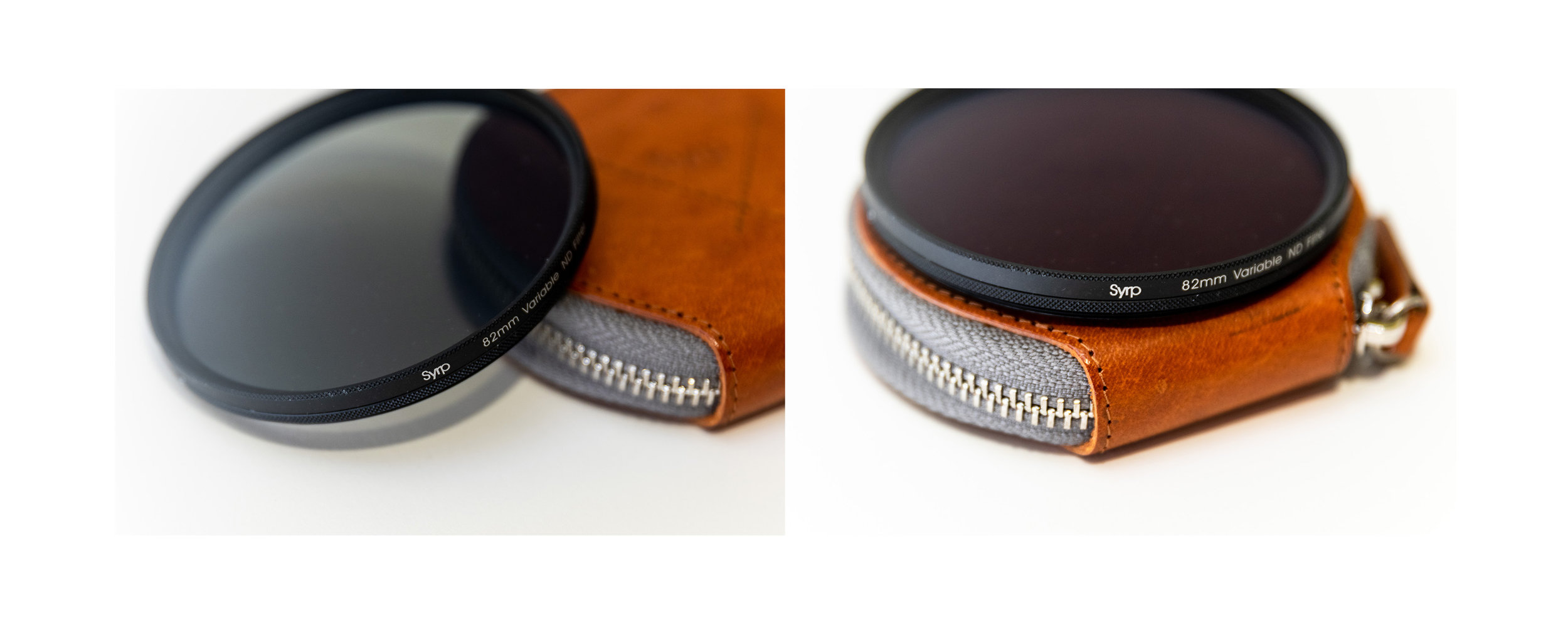 Syrp 82mm Variable ND + Leather case and Step Down Ring (77mm)