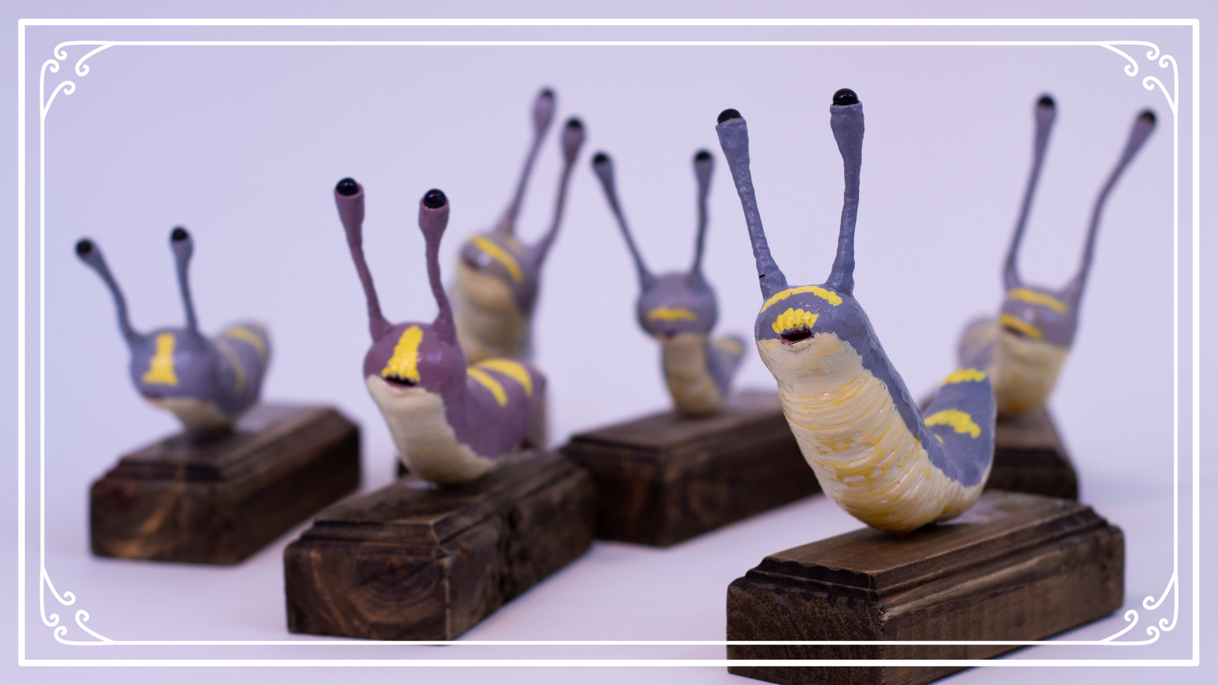 Slimy Slug Sculptures - These slug sculptures can slime their way to your home & heart.