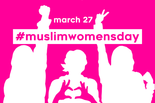 muslimgirlarmy :    For the first time ever this Women's History Month, MuslimGirl.com is teaming up with dozens of partners to designate March 27 as  #MuslimWomensDay . We're calling on our allies to pass the mic to Muslim women by centering their voices and stories online.   We're proud to partner with  Tumblr  and our friends at MTV, Refinery29, Teen Vogue, Huffington Post and many more to bring this day to life right on your dashboard!    How can anyone participate in #MuslimWomensDay?       Center Muslim women's voices:  With the power of social media, we can give space to those that are underrepresented. Make an effort to reblog, RT, and plug your favorite Muslim women online and what they have to say!      Share Muslim women's experiences:  We're flooding the internet with dope content from our partners across the web highlighting Muslim women's stories. If they come across your dash or newsfeed, share them with your network!     Celebrate Muslim women all day!  Take part in the #MuslimWomensDay convo online and share thoughts and photos of the beautiful Muslim women in your lives, or even why you're proud to be a Muslim woman yourself!     Click here to learn more and get ready for the biggest day for Muslim women's representation like, ever.