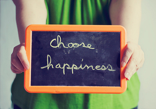 Tell us what makes you happy.