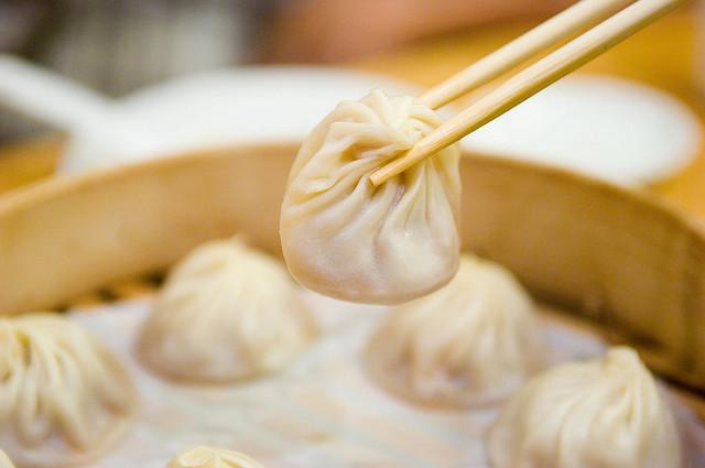 Look at that juicy soup dumpling. We approve.