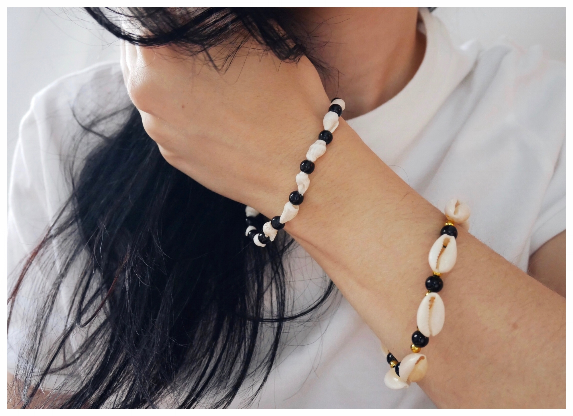 Shell Jewelry bracelet corporate office work fashion blog