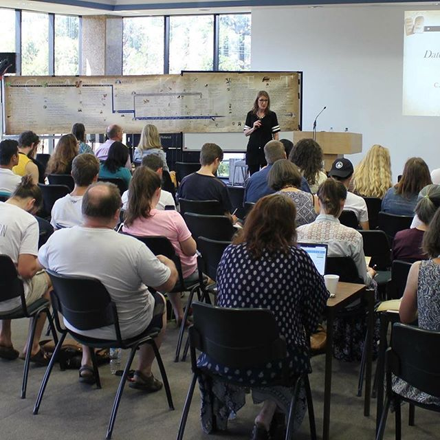 It was a delight for Carol to teach the Old Testament at Melbourne School of Theology (MST) in Australia in February. She completed her studies at MST before studying at Gordon-Conwell. Thanks to MST for the privilege of sharing with incoming students! http://ow.ly/d/7wNO