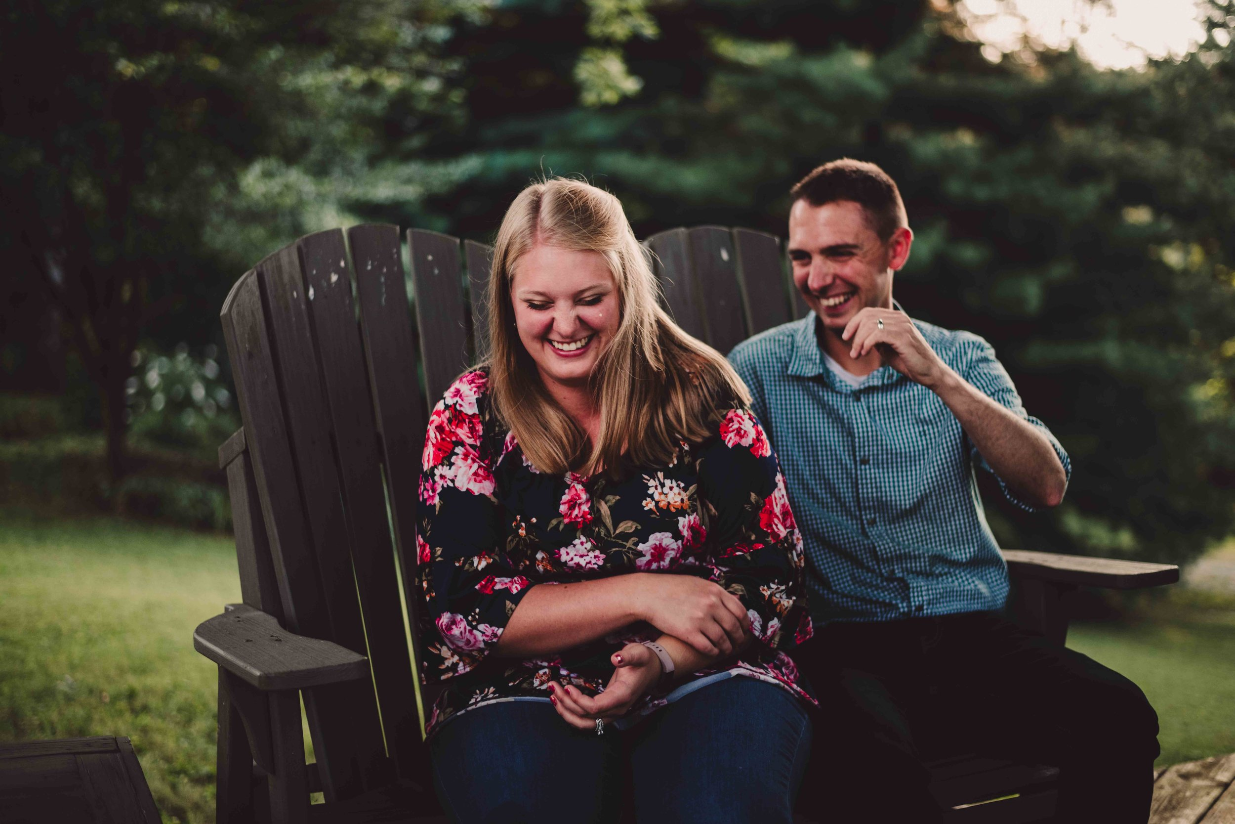 Share the laughter - Who doesn't like a good laugh. One of my favorite emotions to capture!