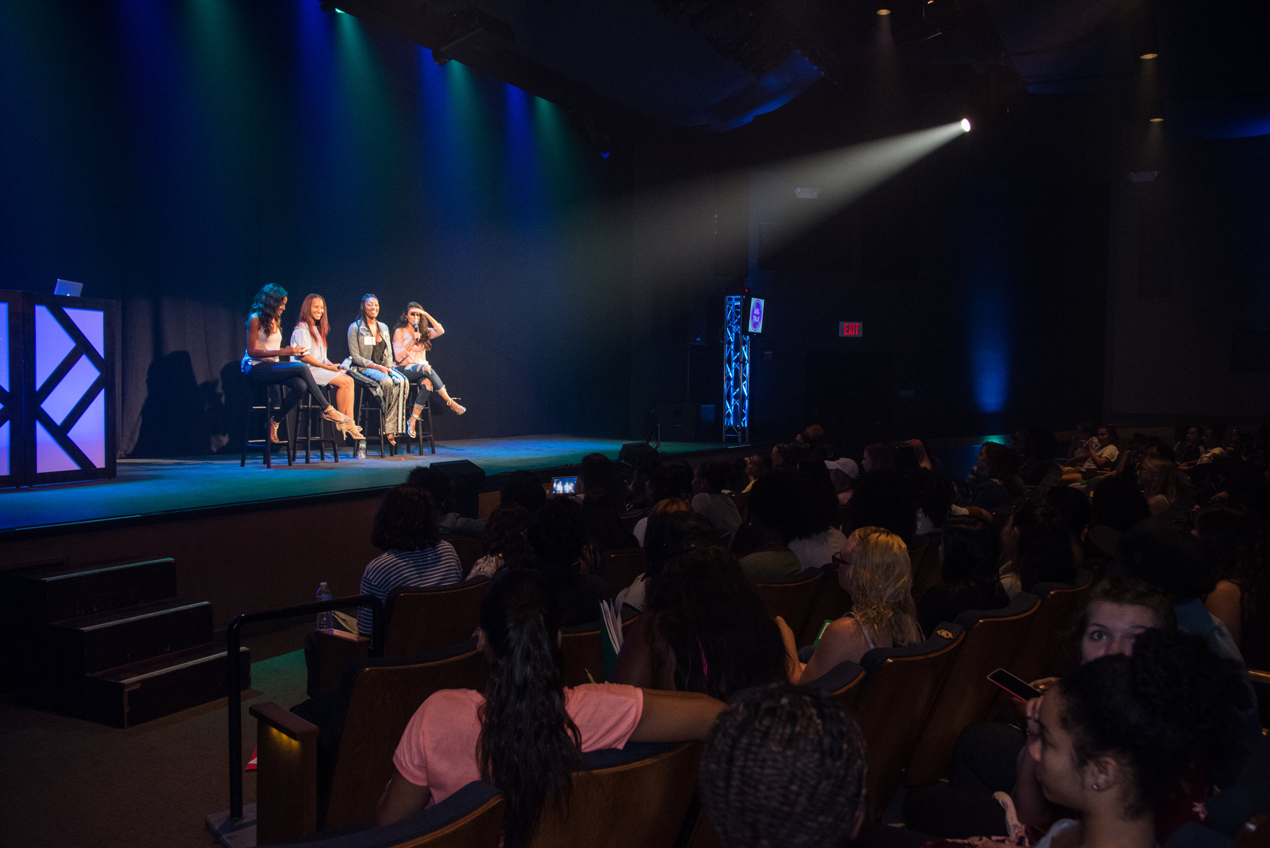 HOT TOPICS PANEL! - This year YOU could be chosen to join the panel LIVE on stage!YOU pick the topics!