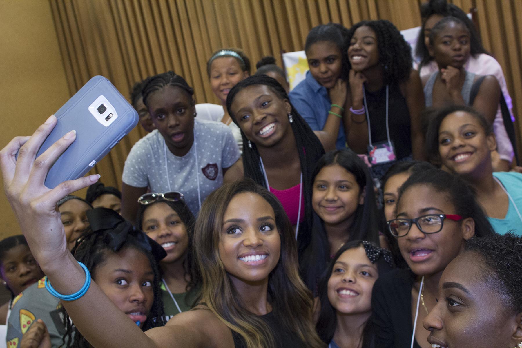 Meagan's favorite selfie! -