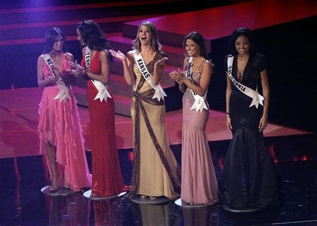 Top 5 At The Miss USA Pageant! - Meagan placed 3rd runner up in the Miss USA pageant live on NBC!