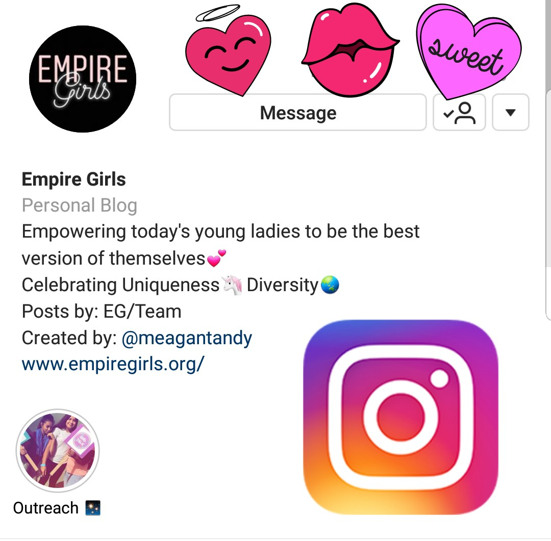 Make sure you are following us on Instagram! - @TheEmpireGirls