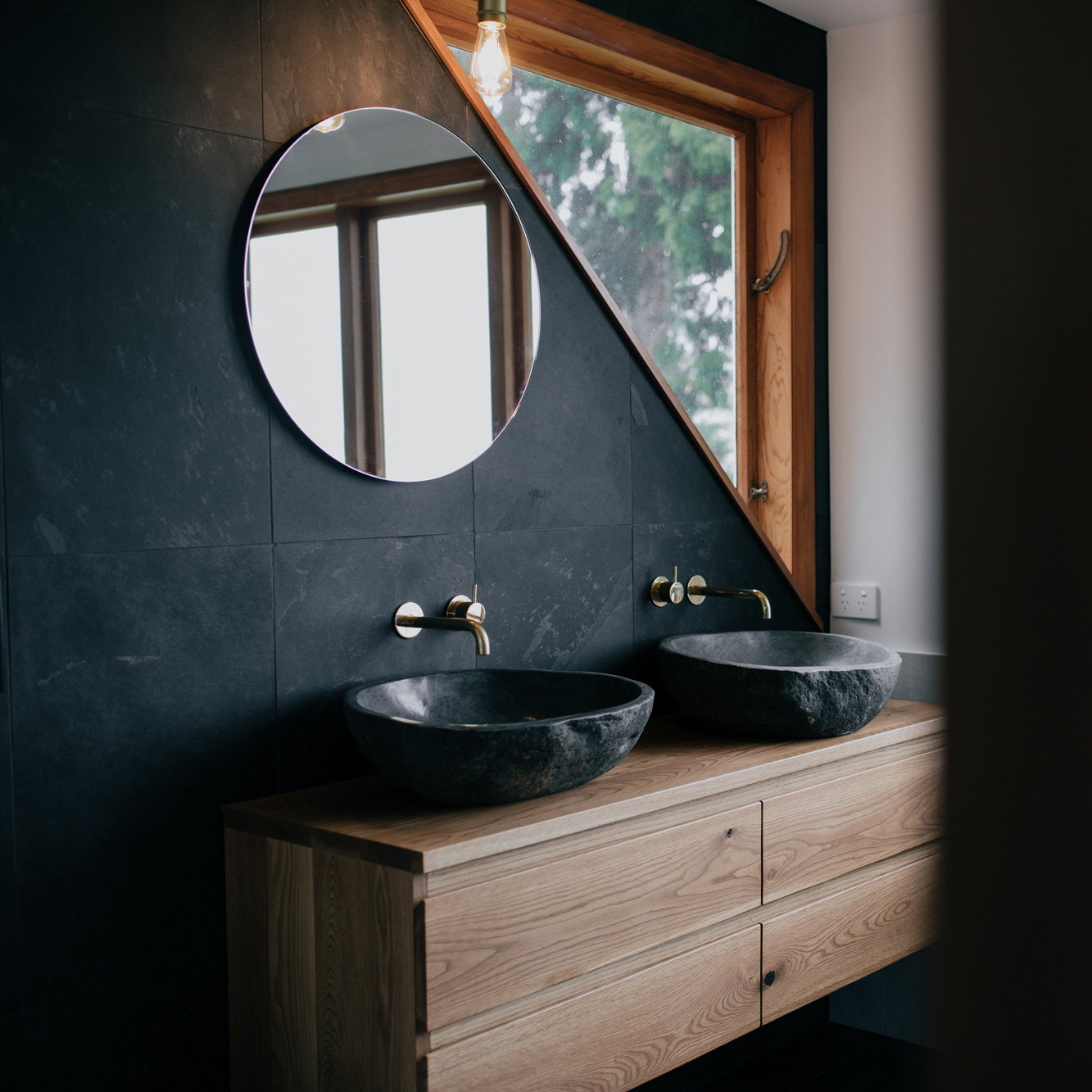 Earthy Bathroom