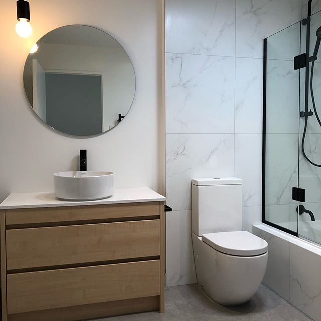 New town house bathroom from our team