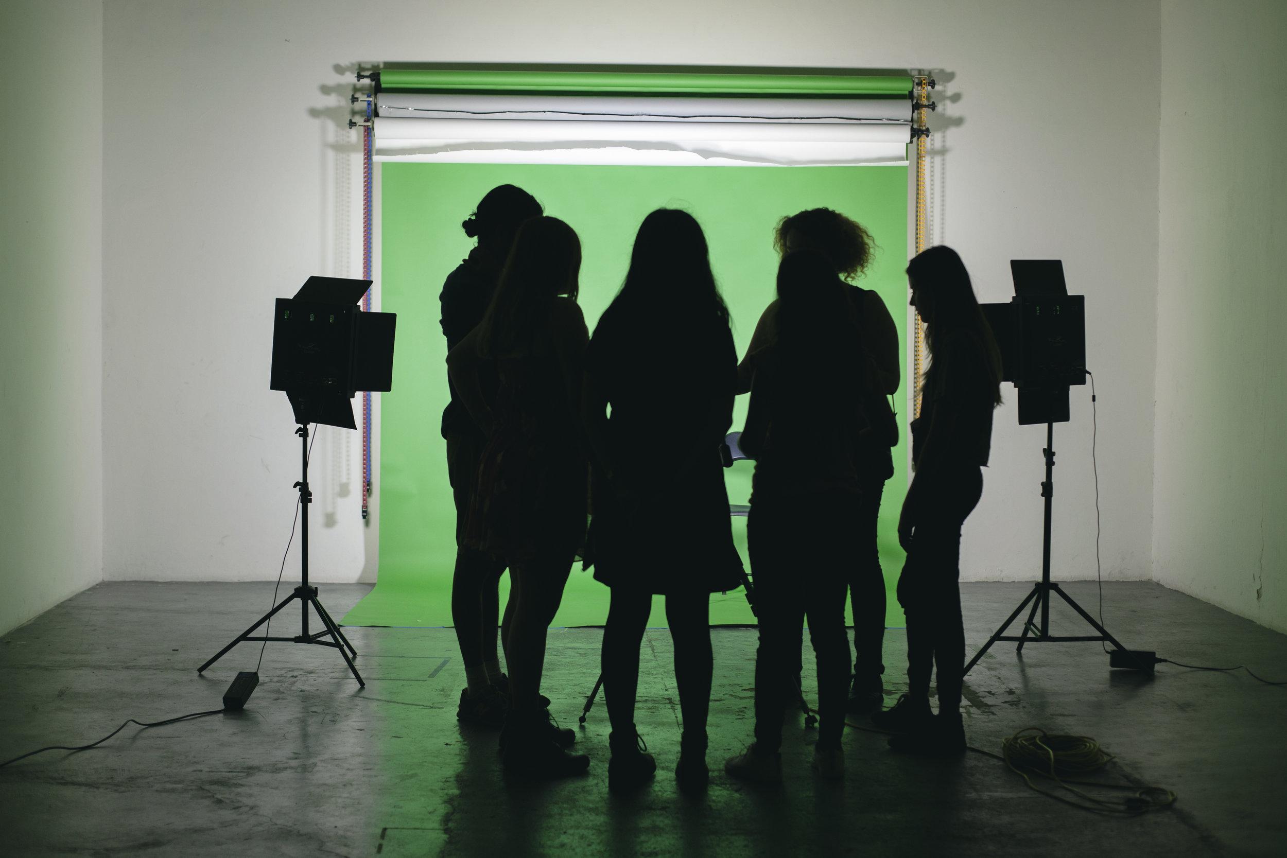 Foro de producción 11 x 5m para producciónes, presentaciones y eventos.