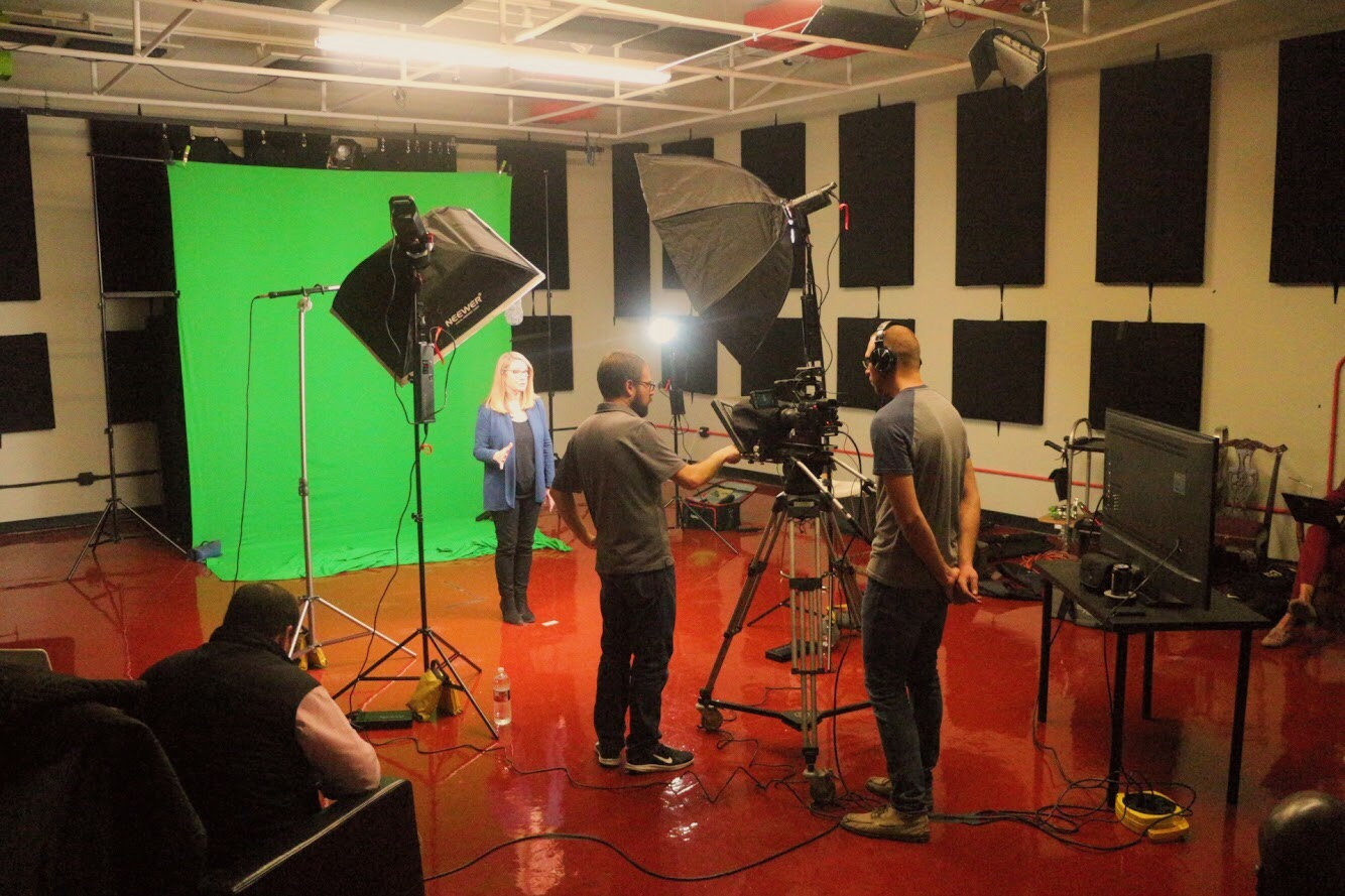 Director Jon and Producer Zach, the dream team. A special thank you to Access Media Productions for the studio space.